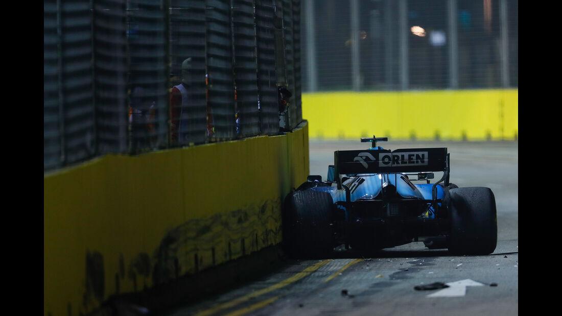 George Russell - Williams - GP Singapur 2019 - Rennen