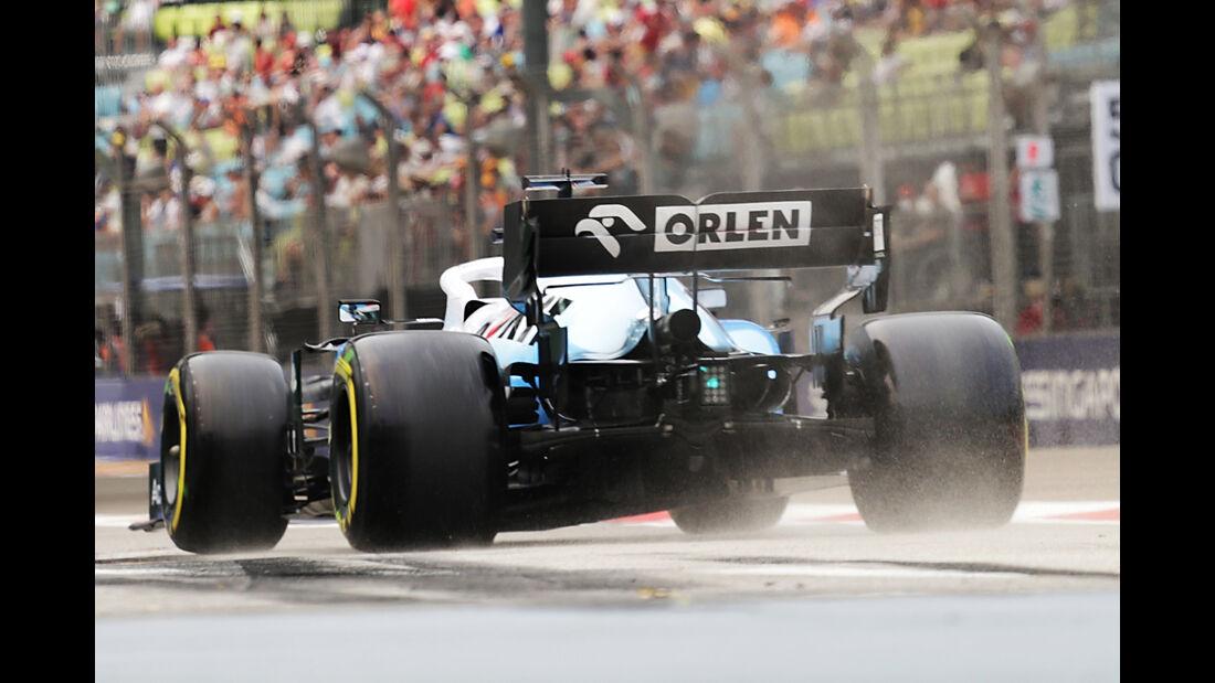 George Russell - Williams - GP Singapur - Formel 1 - Freitag - 20.9.2019
