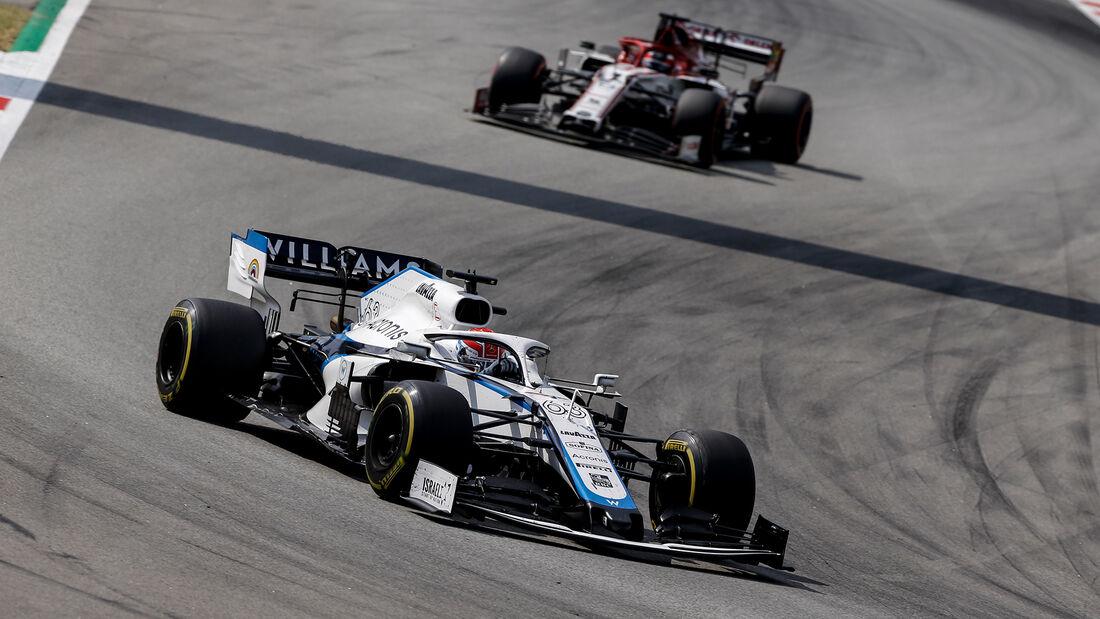 George Russell - Williams - GP Spanien 2020 - Barcelona