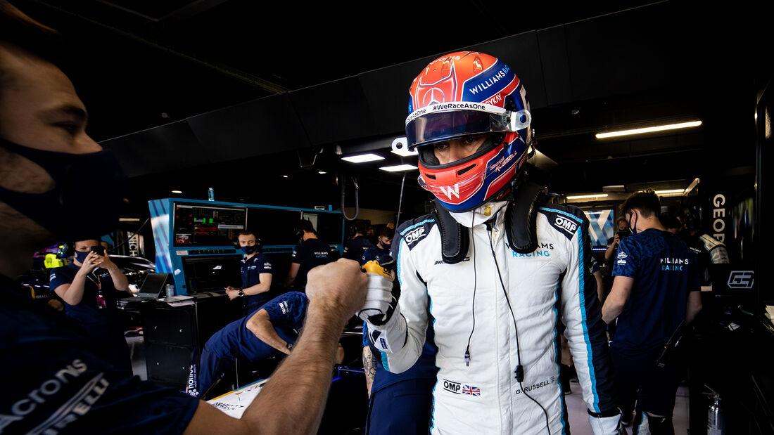 George Russell - Williams - GP Spanien - Barcelona - Formel 1 - Samstag - 8.05.2021