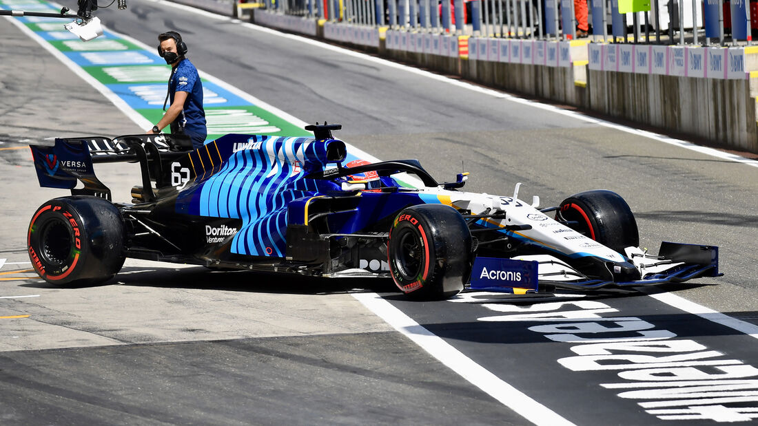 George Russell - Williams - GP Steiermark 2021 - Spielberg