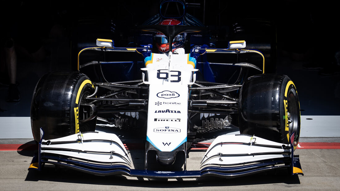 George Russell - Williams - GP Steiermark - Spielberg - Formel 1 - 25. Juni 2021