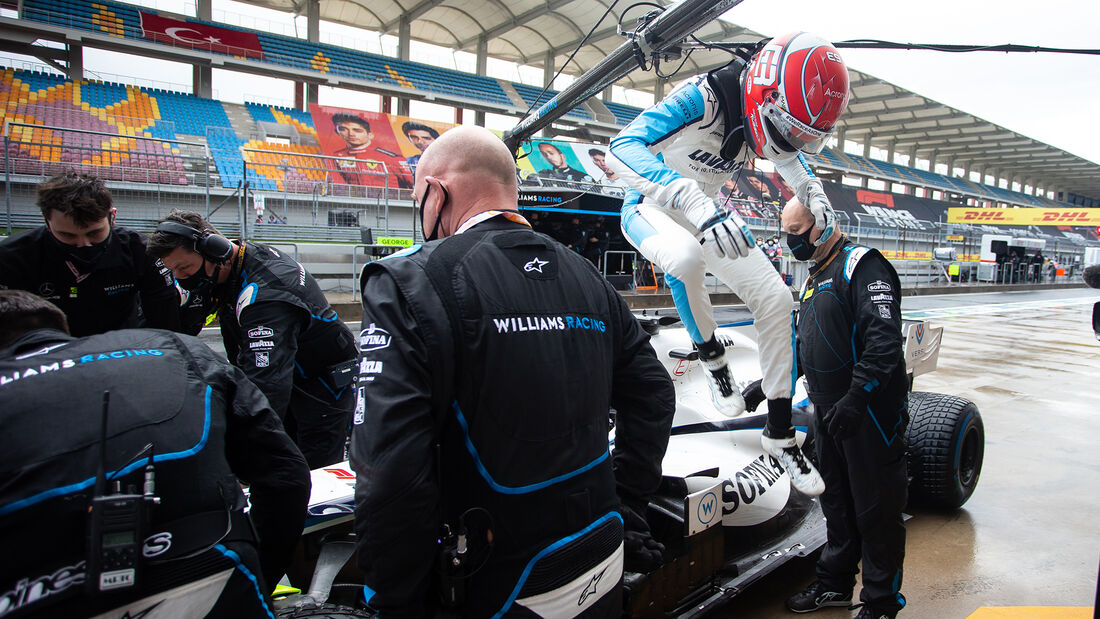 George Russell - Williams - GP Türkei 2020 - Istanbul - Rennen