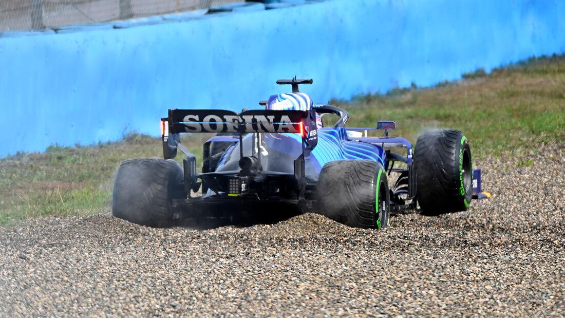 George Russell - Williams - GP Türkei - Istanbul - Formel 1 - 9. Oktober 2021
