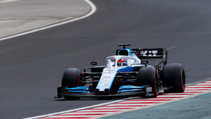 George Russell - Williams - GP Ungarn 2019 - Budapest - Qualifying
