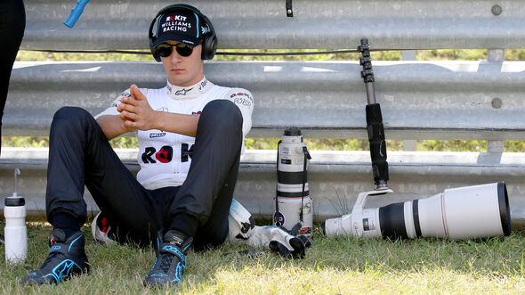 George Russell - Williams - GP Ungarn 2019