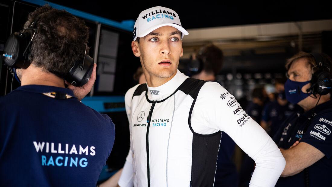 George Russell - Williams - GP Ungarn 2021 - Budapest