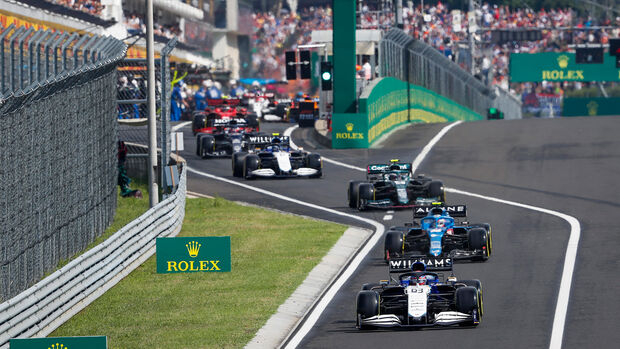 George Russell - Williams - GP Ungarn 2021 - Budapest - Rennen
