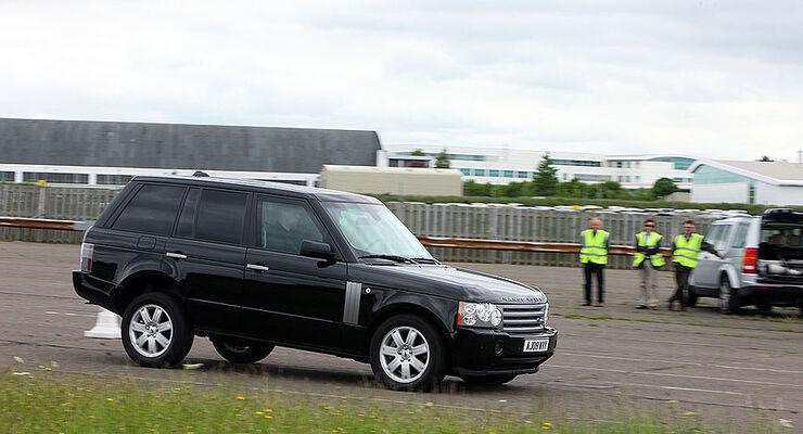 Gepanzerte Land Rover