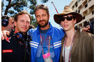Gerard Butler Johnny Borrell GP Monaco 2010