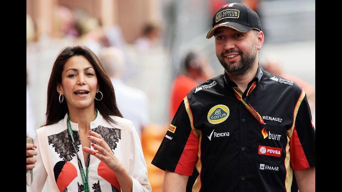 Gerard Lopez - Lotus  - Formel 1 - GP Monaco - 25. Mai 2014