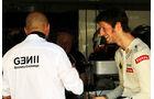 Gerard Lopez & Romain Grosjean - Formel 1 - GP Brasilien - Sao Paulo - 23. November 2012