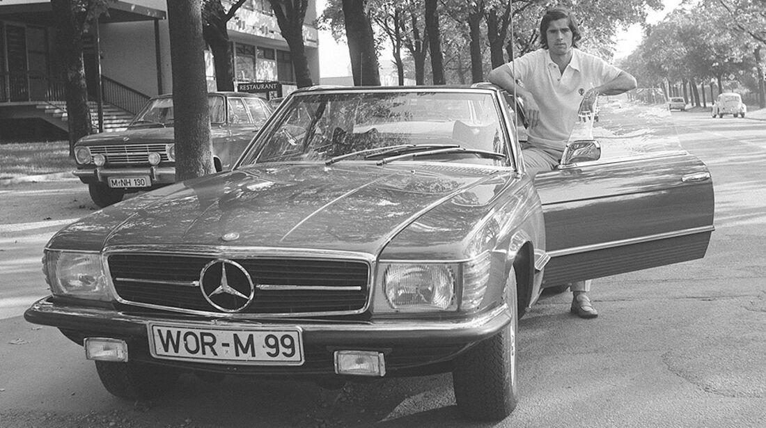 Gerd Müller Mercedes 350 SL