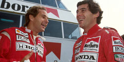 Gerhard Berger & Ayrton Senna - GP Portugal 1991