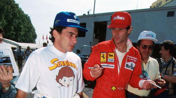 Gerhard Berger - Ayrton Senna - GP San Marino 1994