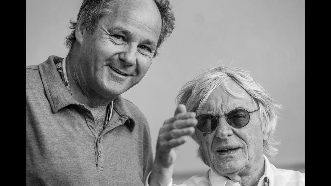 Gerhard Berger & Bernie Ecclestone - Danis Bilderkiste - Formel 1 - GP Bahrain 2015
