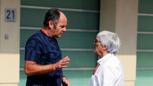 Gerhard Berger & Bernie Ecclestone - F1 - 2016