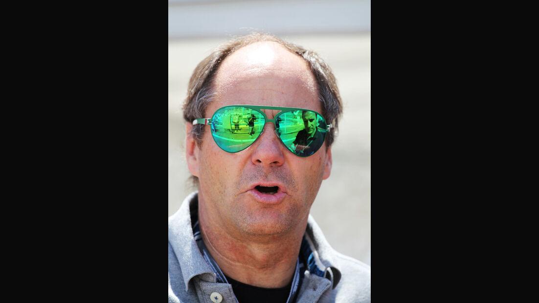 Gerhard Berger F1 Fun Pics 2012