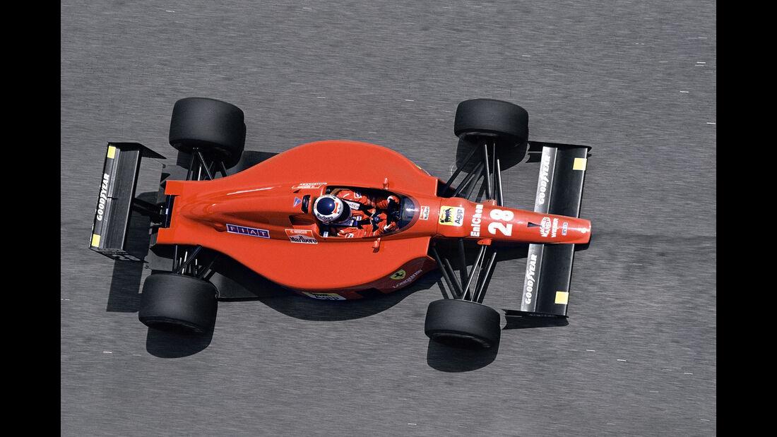 Gerhard Berger - Ferrari 640 - Rio 1989