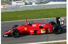 Gerhard Berger - Ferrari F1/87 - GP Österreich 2014 - Legenden