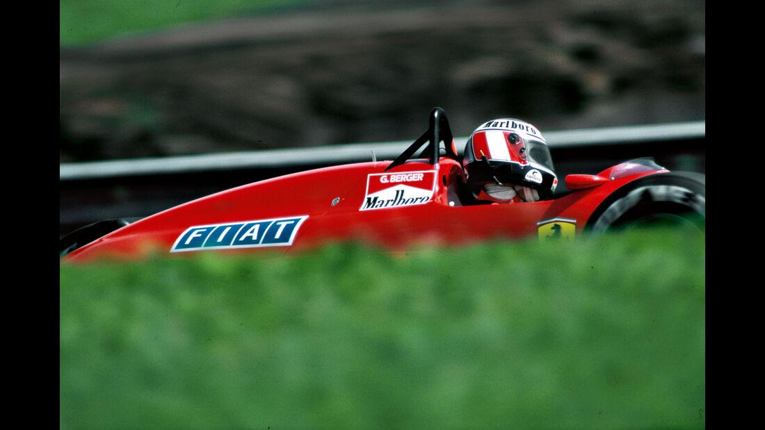 Gerhard Berger - Ferrari F1-87 Turbo - Rio 1987