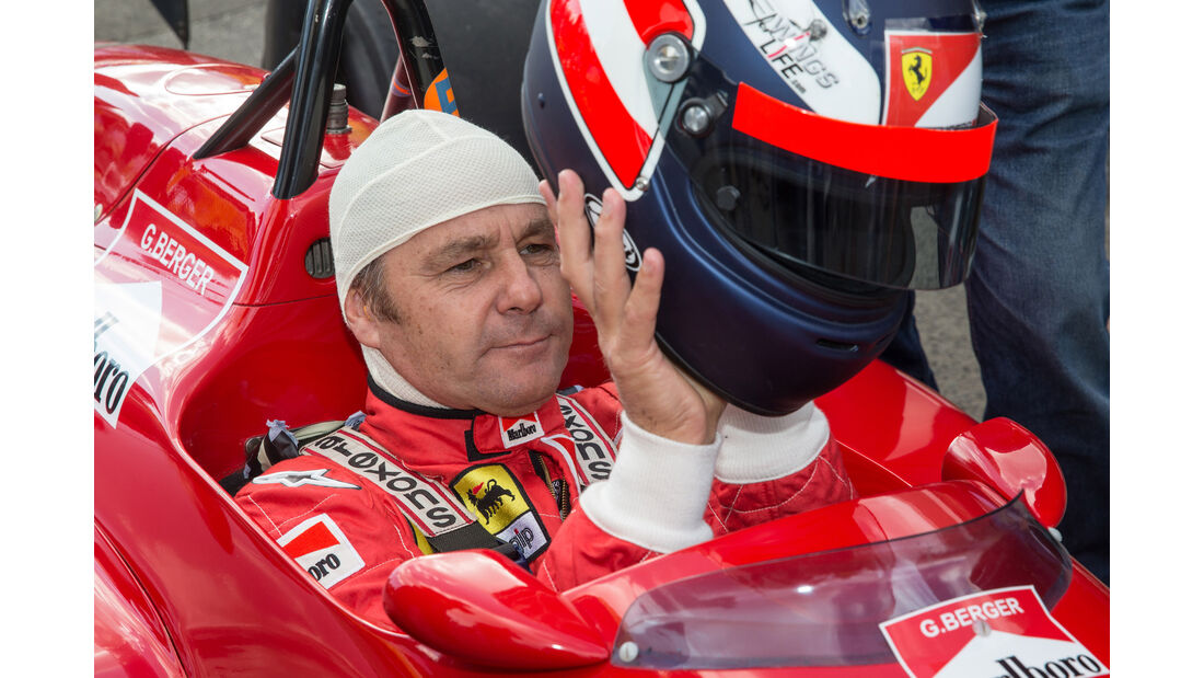 Gerhard Berger - Ferrari F1-88C - Legends Parade - GP Österreich 2015