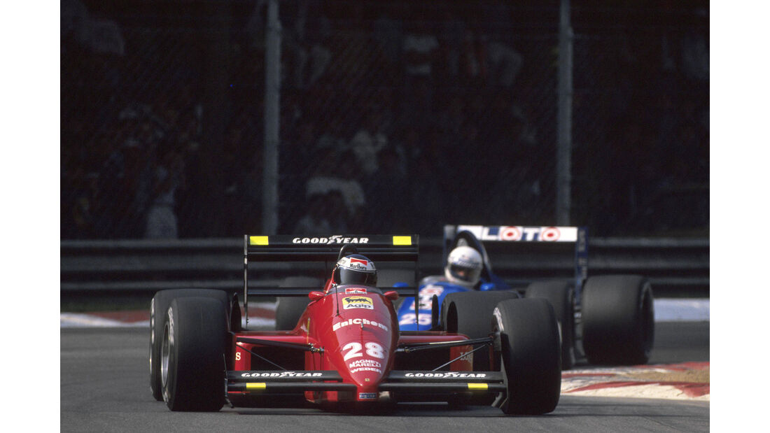 Gerhard Berger - Ferrari F187 - GP Italien 1988
