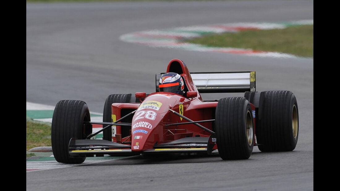 Gerhard Berger Ferrari Mondiali 2011 Mugello
