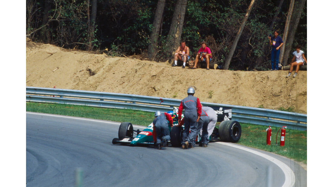 Gerhard Berger - Formel 1 - GP Ungarn 1986