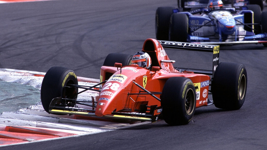 Gerhard Berger - GP Italien 1995
