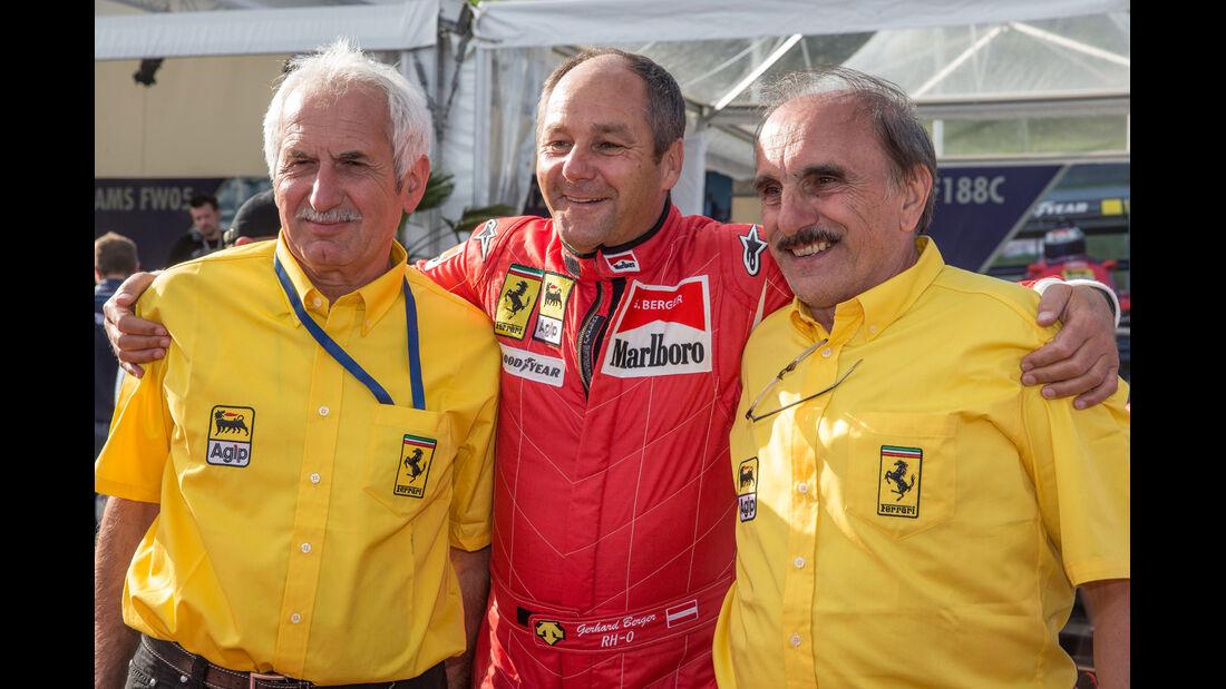 Gerhard Berger - GP-Legenden - GP Österreich 2014
