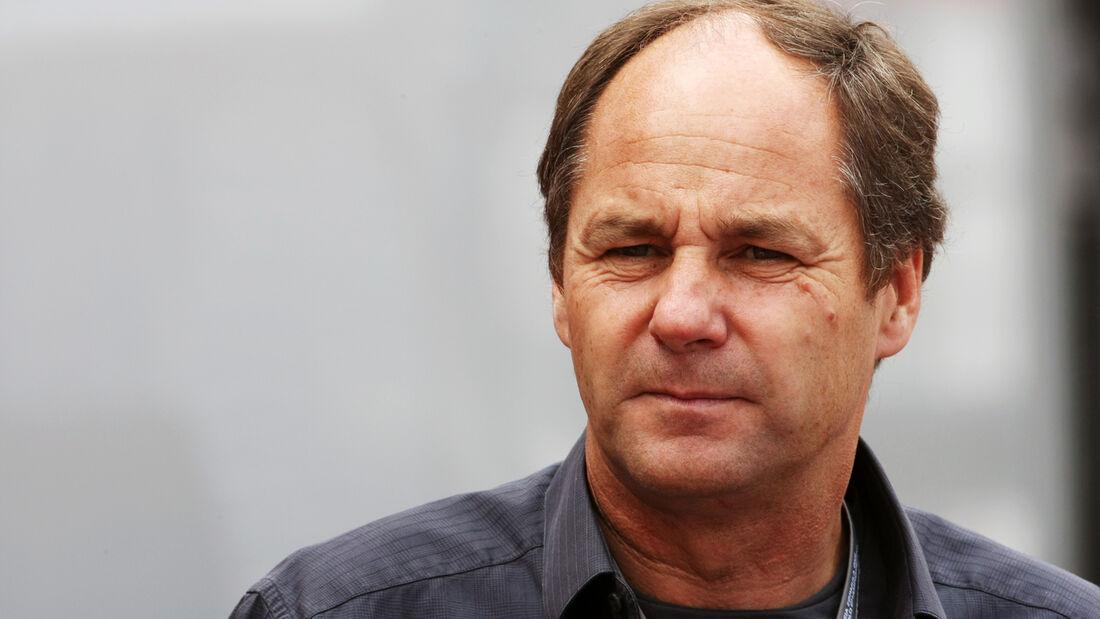 Gerhard Berger GP Monaco 2012