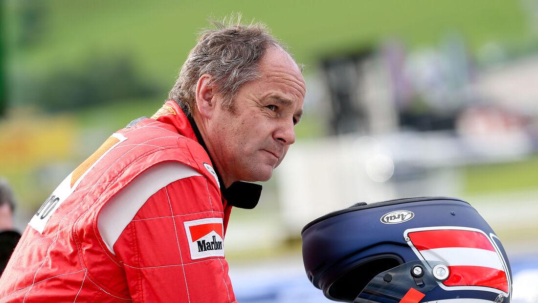 Gerhard Berger - GP Österreich 2015