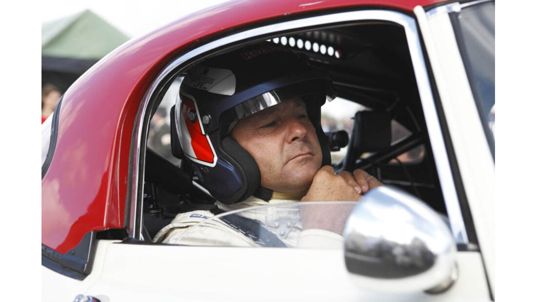 Gerhard Berger Goodwood Revival 2011