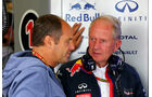Gerhard Berger & Helmut Marko - Formel 1 - GP Österreich - Spielberg - 21. Juni 2014