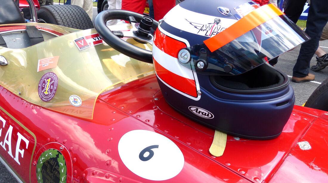 Gerhard Berger - Lotus 49B - GP Österreich 2014 - Legenden