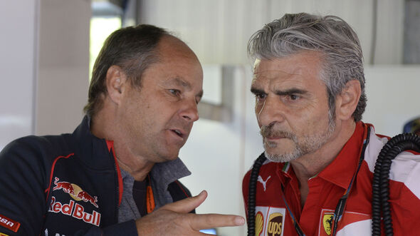 Gerhard Berger & Maurizio Arrivabene - F1 - 2015