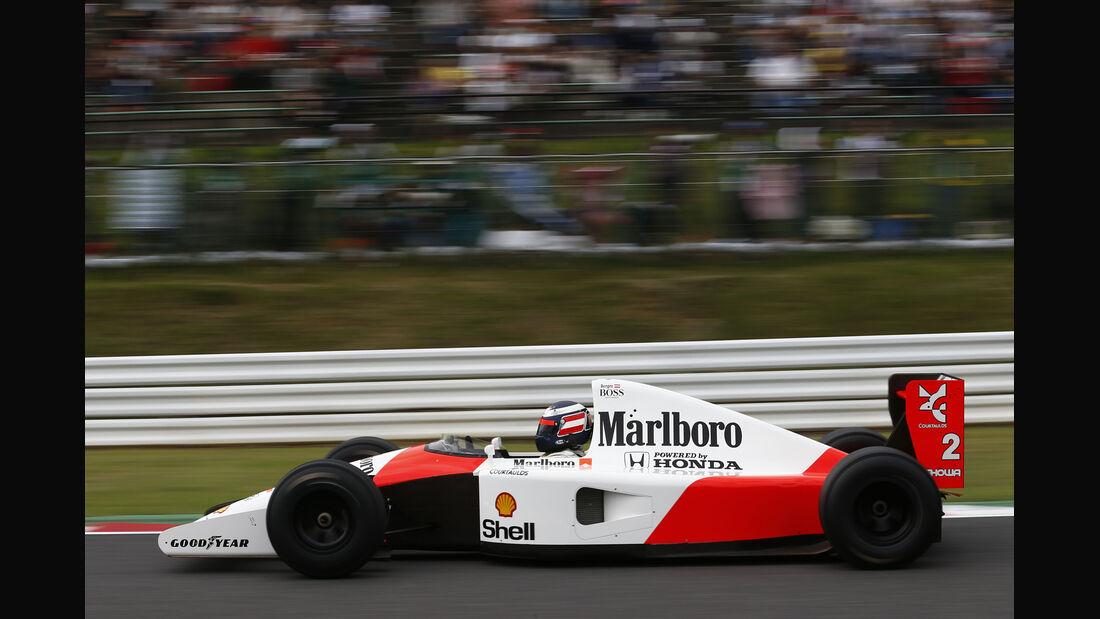 Gerhard Berger - McLaren - Formel 1 - GP Japan - Suzuka - 26. September 2015