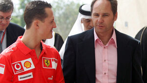 Gerhard Berger & Michael Schumacher