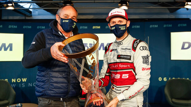 Gerhard Berger - René Rast - DTM - Hockenheim 2020