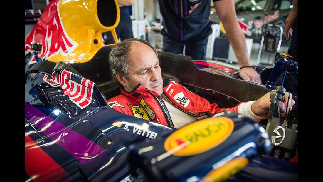 Gerhard Berger - Spielberg 2014