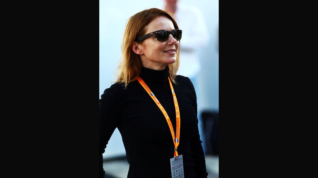 Geri Halliwell - Formel 1 - GP Russland - Sochi - 9. Oktober 2014