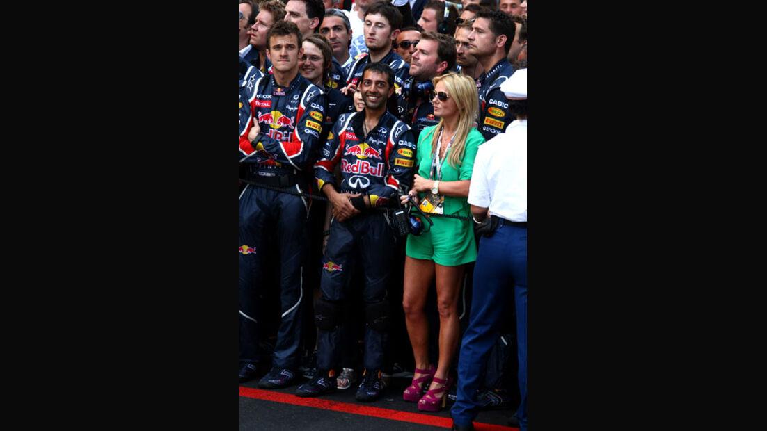Geri Halliwell GP Monaco 2011