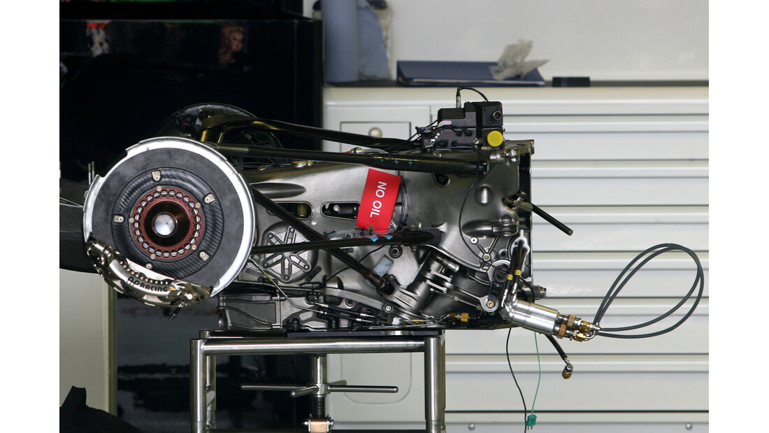 Getriebe - Force India - GP Australien - 14. März 2012