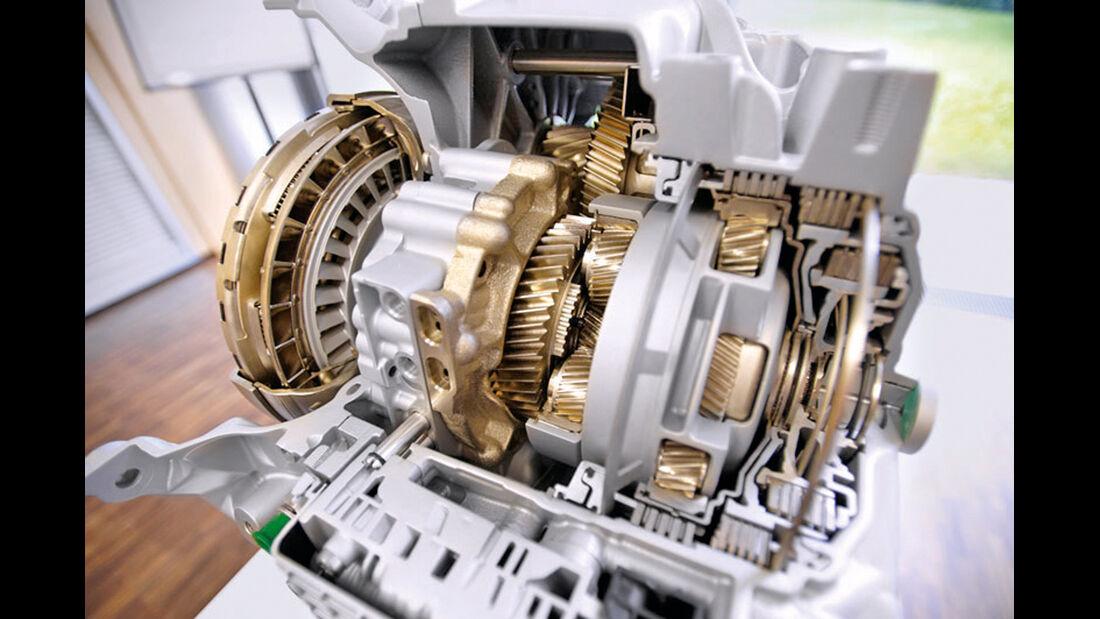 Getriebe, Schnittmodell