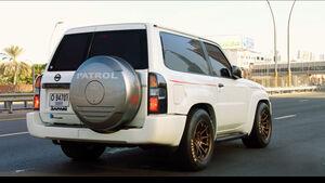 "Getunter Nissan Patrol aus ""The Grand Tour"""