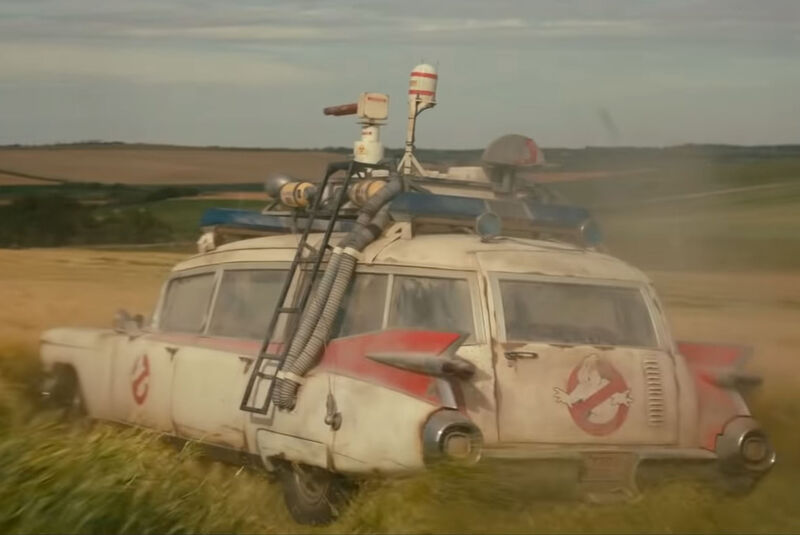 Ghostbusters Afterlife: 1959er Cadillac Ecto-1
