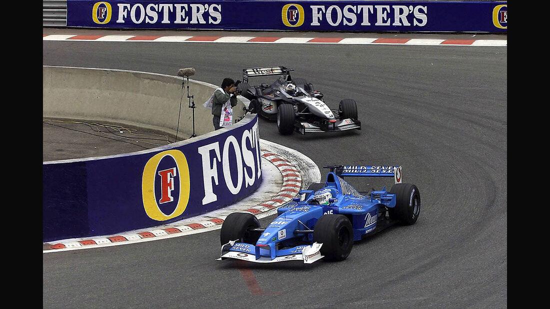 Giancarlo Fisichella - Benetton B201 - GP Belgien 2001