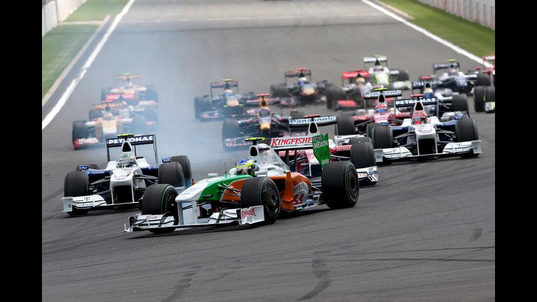 Giancarlo Fisichella - GP Belgien 2009
