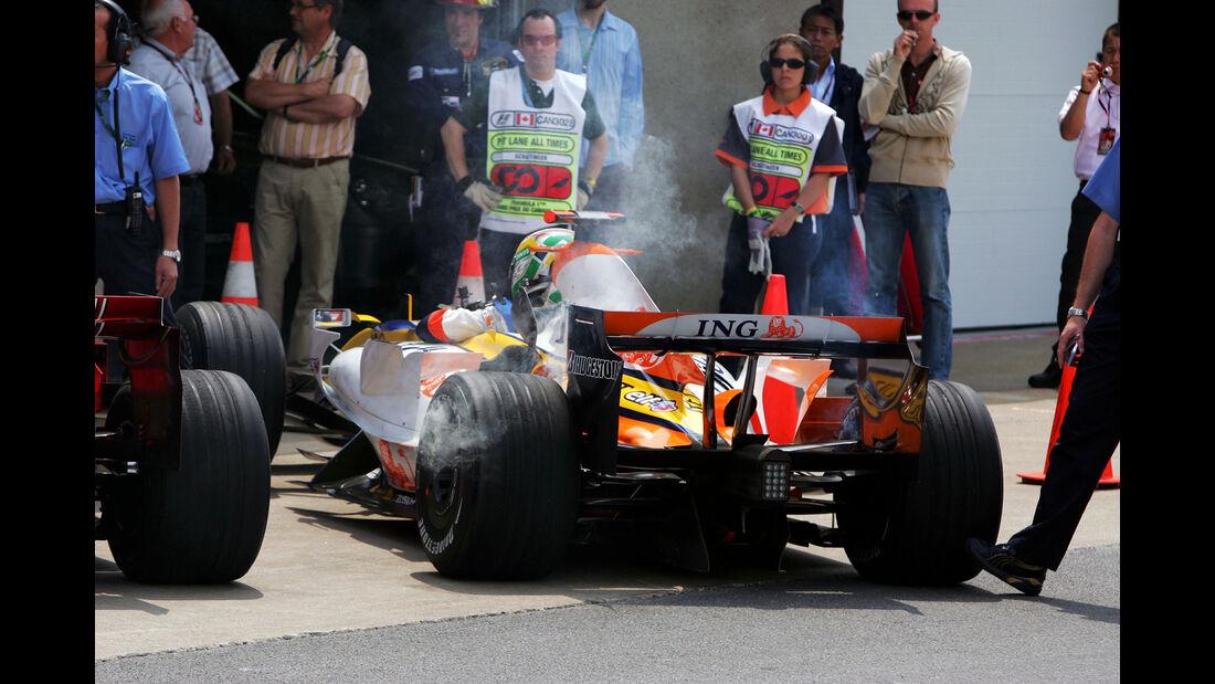Giancarlo Fisichella - GP Kanada 2007